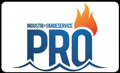 industri og skadeservice pro logo kunde
