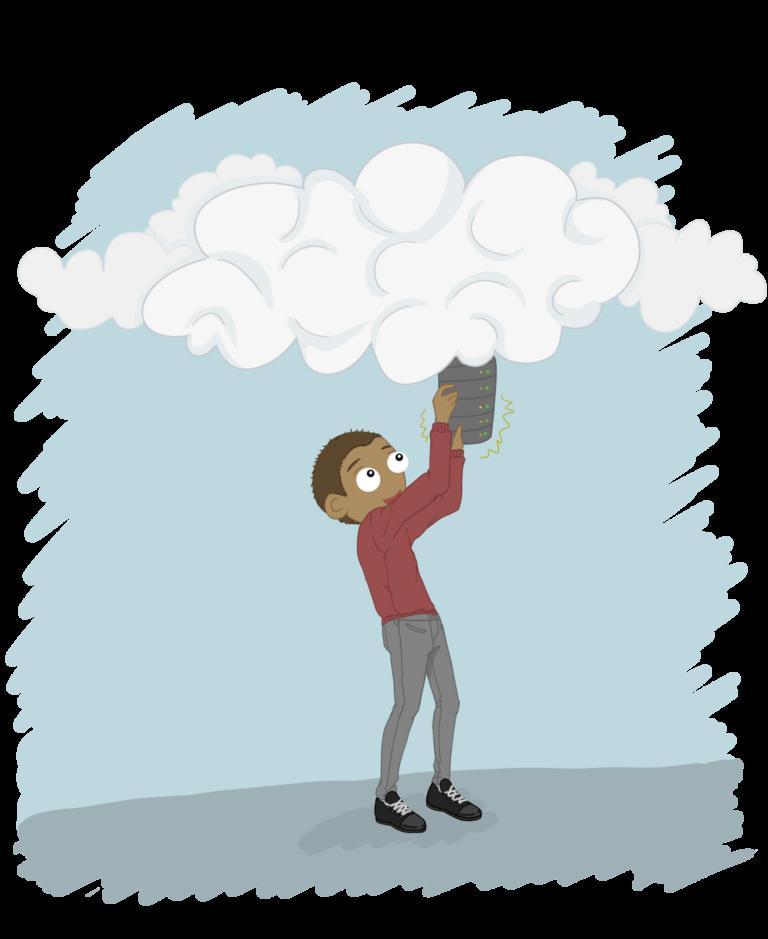 virtuel hosting i skyen